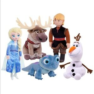 Frozen 2 Plush collector set